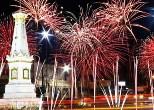 Spot tahun baru di Jogja